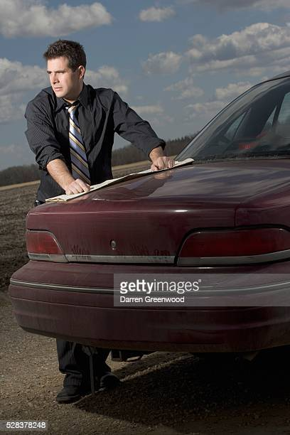 Stranded driver