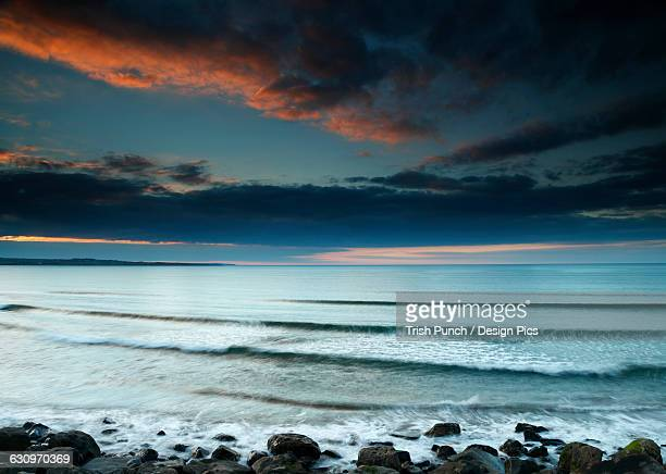 Strandhill beach on the Wild Atlantic Way coastal route