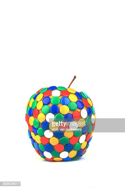 Strange apple