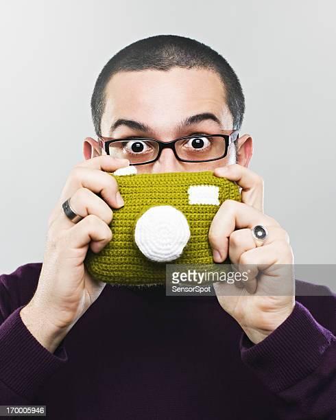 Strange photographer