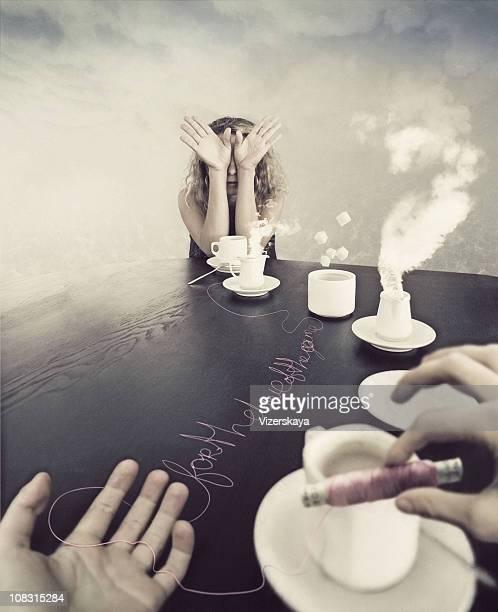 strange tea-party