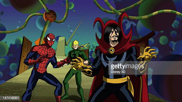 MAN 'Strange' When everyone in New York City is caught in a mystical slumber SpiderMan and Iron Fist seek out the help of Dr Strange master of the...