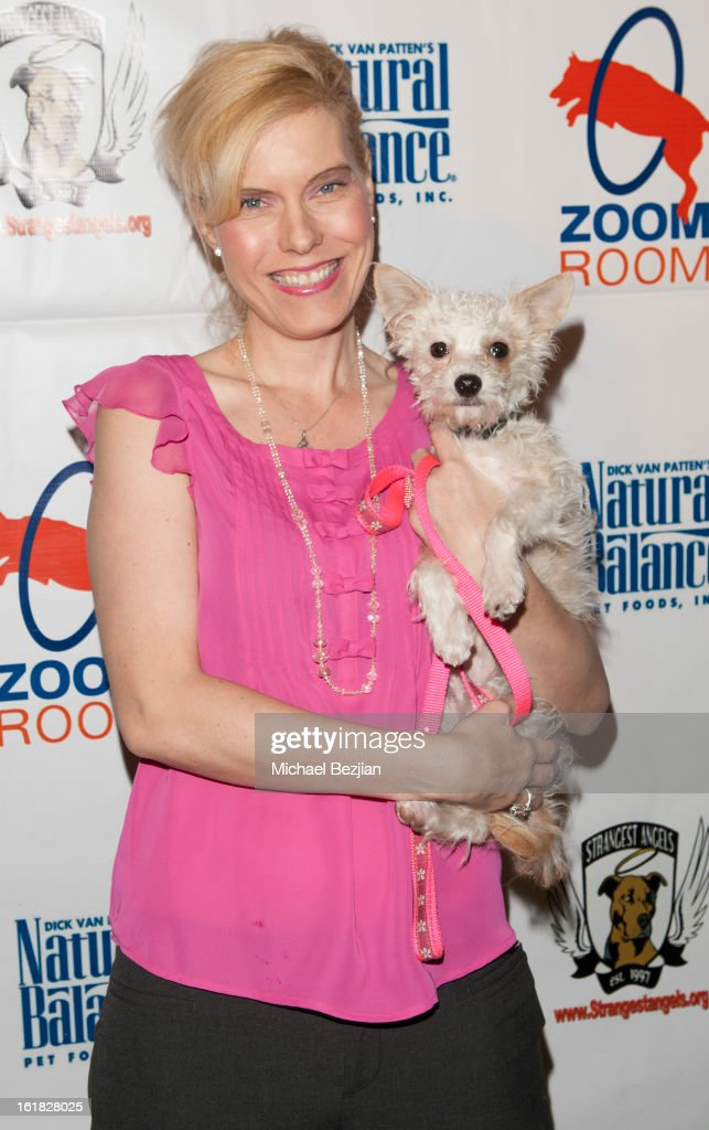 Strangest Angels Founder Elle Wittelsbach attends Hooray for Hollywoof! Grand Opening and Launch Party for Zoom Room at Zoom Room on February 16, 2013 in Sherman Oaks, California.