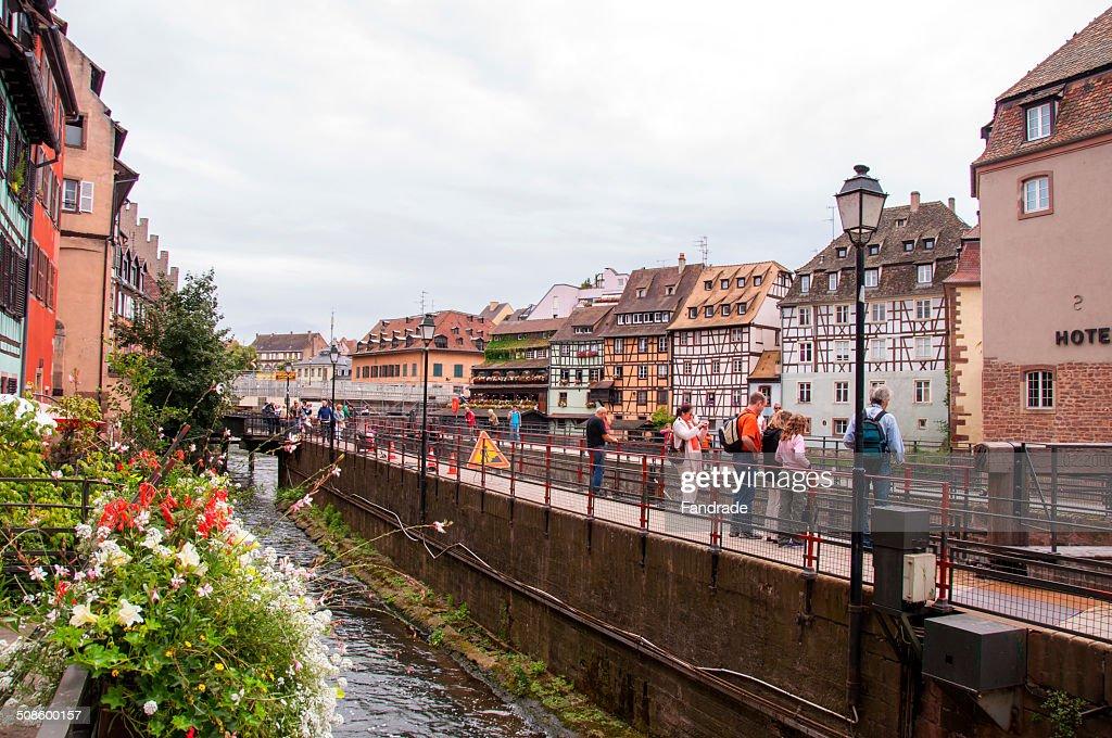 Strasbourg Alsace France : Foto de stock