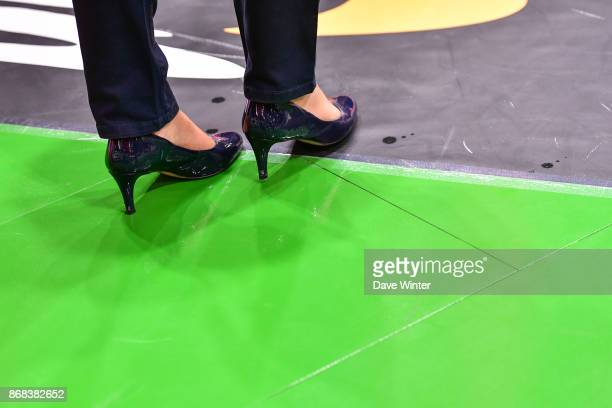 Strasbourg assistant coach Lauriane Dolt during the Pro A match between Nanterre and Strasbourg on October 30 2017 in Nanterre France