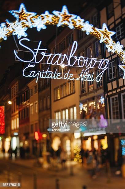 Strasbourg Capital du Noel - main entrance gate