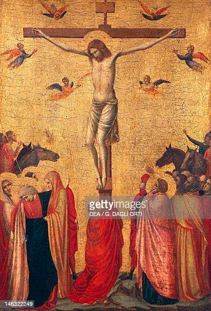 Strasbourg Musée Des BeauxArts Crucifixion ca 1325 perhaps by Giotto tempera on panel 39x26 cm