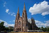Strasbourg Notre Dame in summer