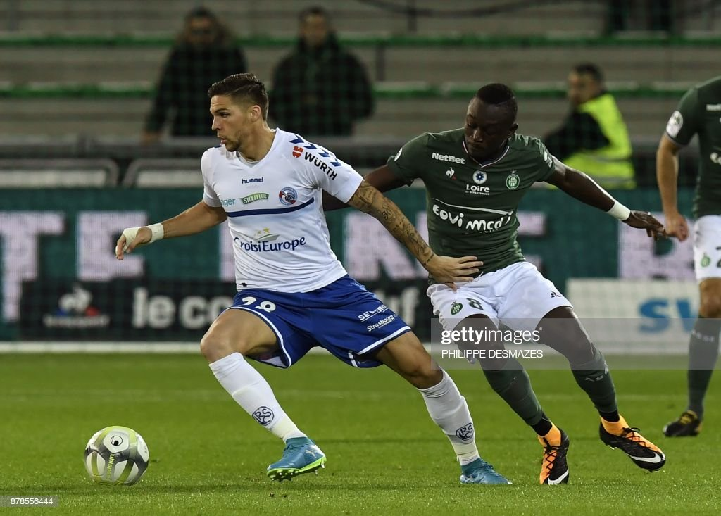 AS Saint-Etienne v Strasbourg - Ligue 1
