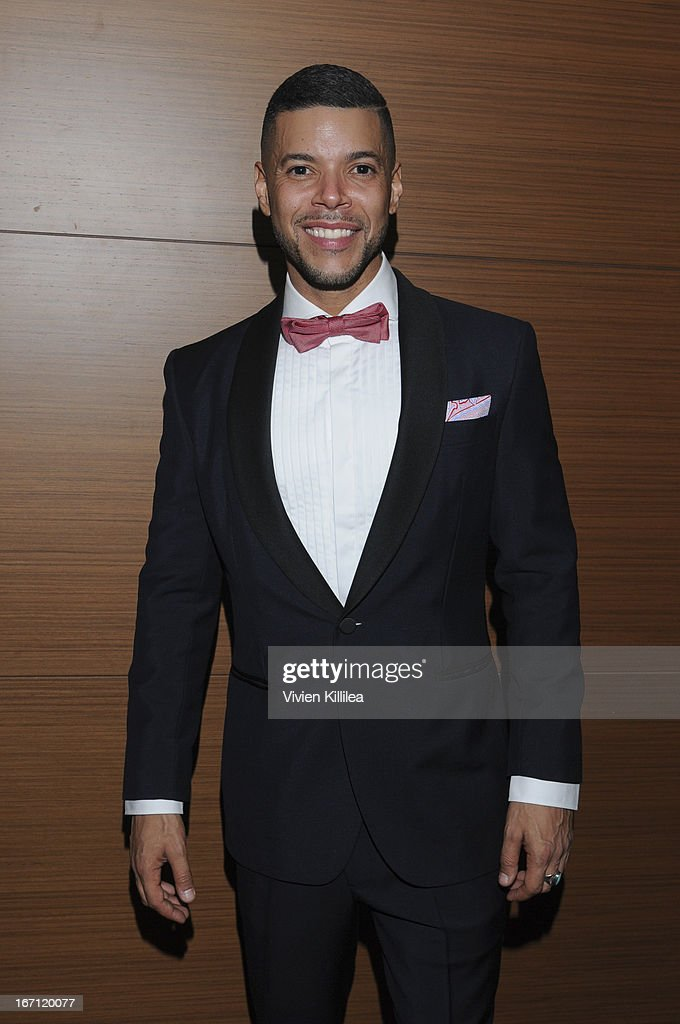 Strategic Giving Officer of GLAAD Wilson Cruz attends 24th Annual GLAAD Media Awards Presented By Ketel One And Wells Fargo - Dinner And Show at JW Marriott Los Angeles at L.A. LIVE on April 20, 2013 in Los Angeles, California.