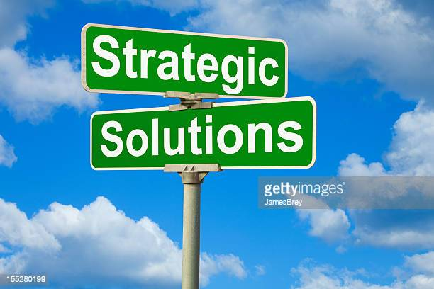Strategic Solutions Street Sign