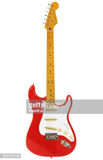 Stratocaster from Classic Vibe series in Fender's vintage Fiesta Red
