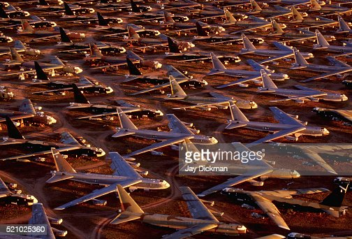 B-52 Stratofortress Bombers in Storage