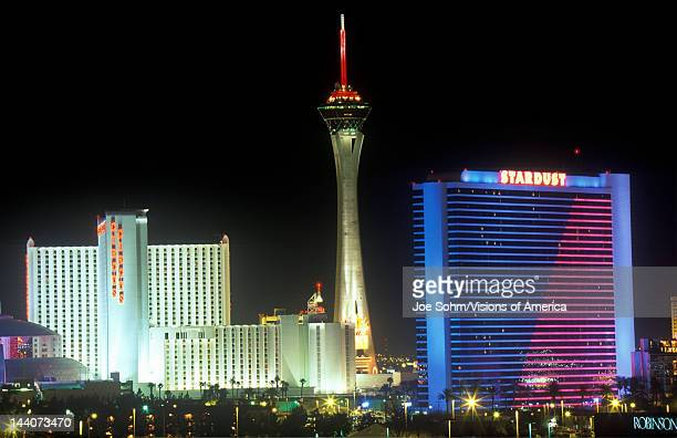 Stratosphere Tower and Stardust Hotel Las Vegas NV