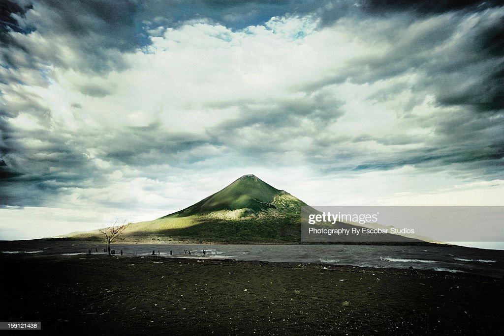 Stratovolcano in Nicaragua : Stock Photo
