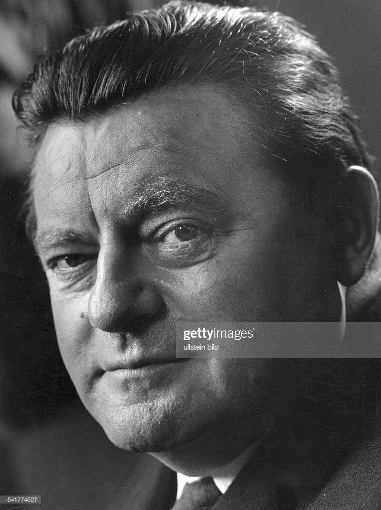 Strauss Franz Josef *Politician GermanyPortrait photographer Paul Swiridoff