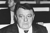 Strauss Franz Josef *Politiker CSU D Portrait