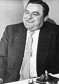 Strauss Franz Josef Politiker CSU D Halbportrait 1961
