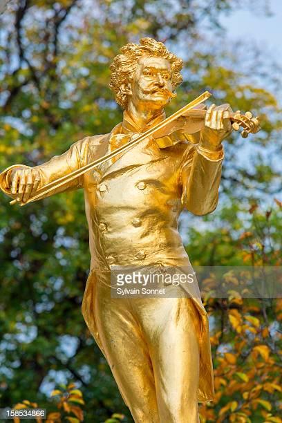 Strauss monument in Stadt park, Vienna,