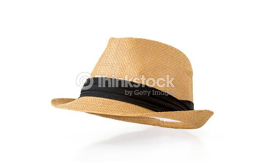 Straw hat isolated on white background   Stock Photo 7f5dab14d47f