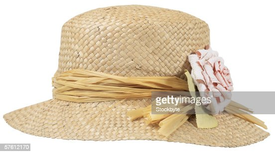 straw hat : Foto stock
