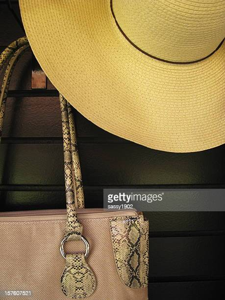 Straw Hat Purse Fashion Designer