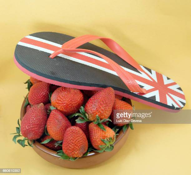 strawberries are afraid of Brexit