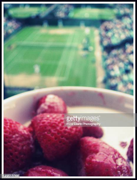 Strawberries, cream and tennis