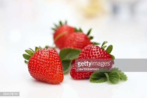 Strawberries : Stockfoto