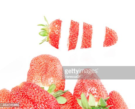 strawberries : Stock Photo