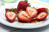 Strawberries with Balsamic