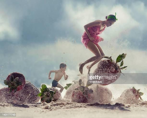 Spiaggia di fragole