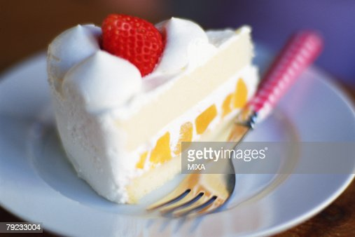 Strawberry cake : Stock Photo