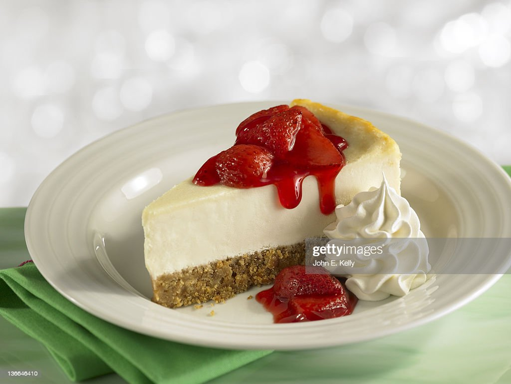 Strawberry Cheesecake : Stock Photo
