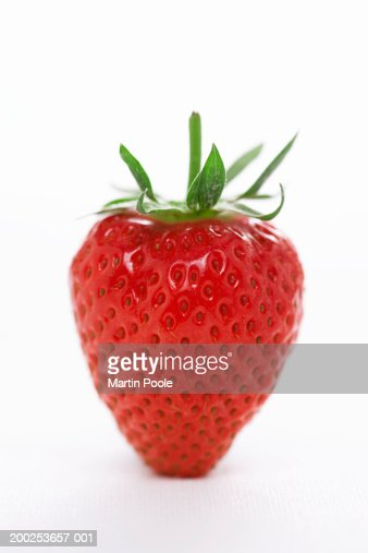 Strawberry, close-up : Stock Photo
