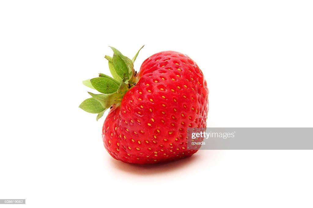 strawberry isolated on white background : Stock Photo