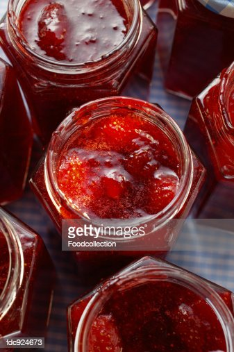 Strawberry Jam Stock Photos and Pictures | Getty Images