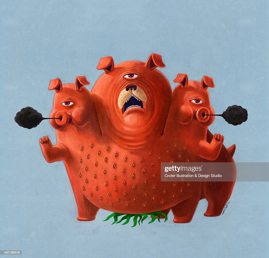 Strawberry monsters