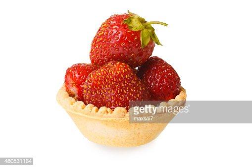 Strawberry tart : Stock Photo