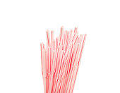 Straws for drinking isolated on white backgroundStraws for drinking isolated on white background