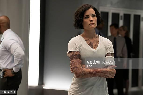 BLINDSPOT 'A Stray Howl' Episode 102 Pictured Jaimie Alexander as Jane Doe