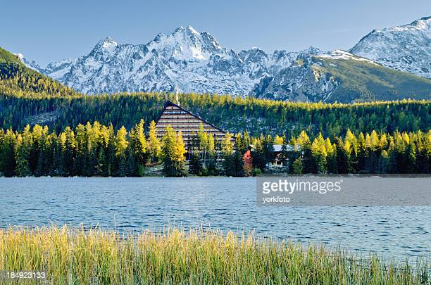 Strbske Pleso - Mountain lake in morning