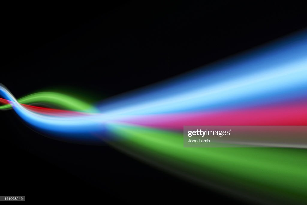 RGB Streaming download : Stock Photo