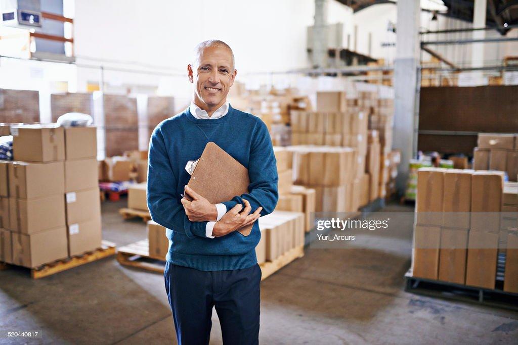 Racionalização logística é que faço. : Foto de stock