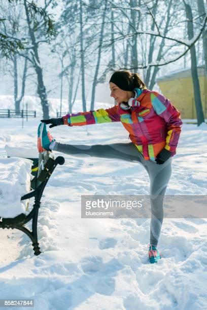 Stretching-nach intensiven Training