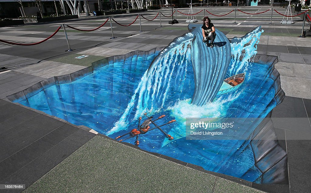 tracy lee stum recreates iconic scene from street artist tracy lee stum recreates an iconic scene from life of pi in