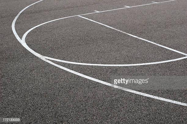 Rua de basquetebol