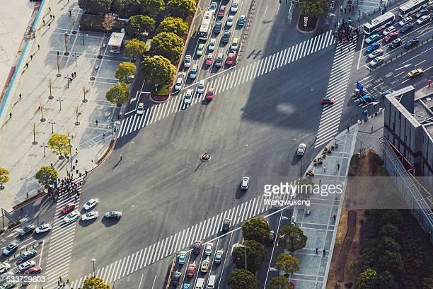 street bird's view
