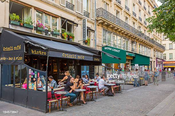 Street cafe, Paris, France