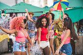 People, Crowd, Street Party, Brazil, Olinda